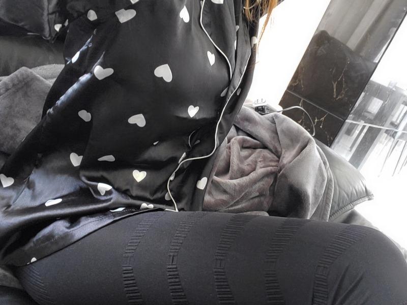 グラマラスパッツを履いている写真