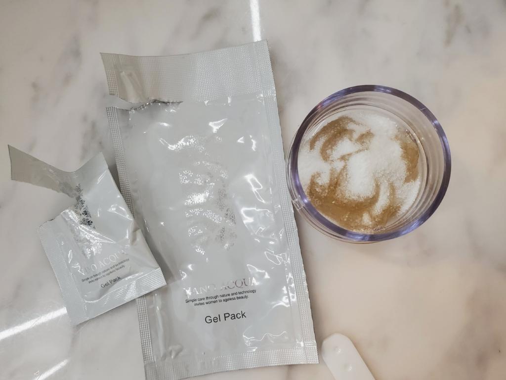 ナノアクア炭酸ジェルパック使い方