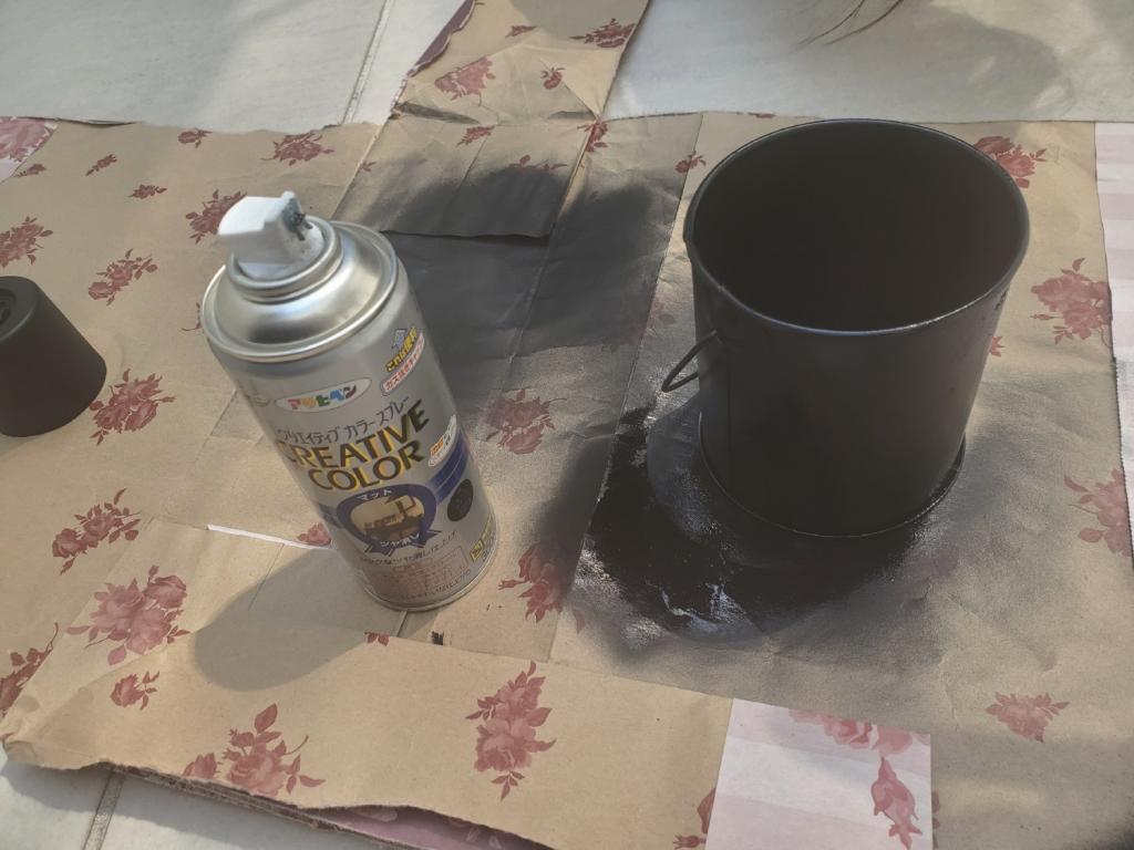 塗料で塗り替え