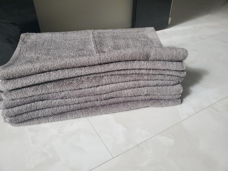 洗う前のビッグフェイスタオル