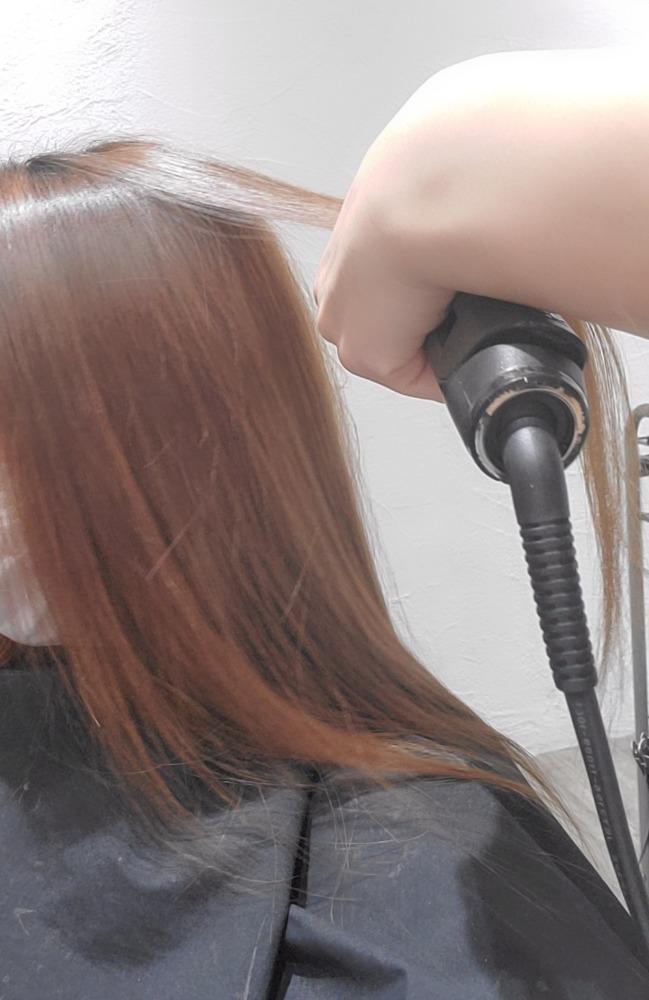 縮毛矯正のやり方