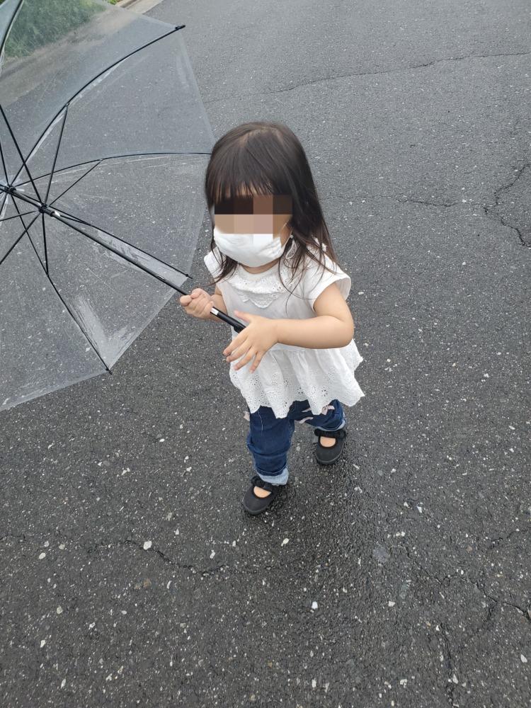 マスクが付けれるようになった娘