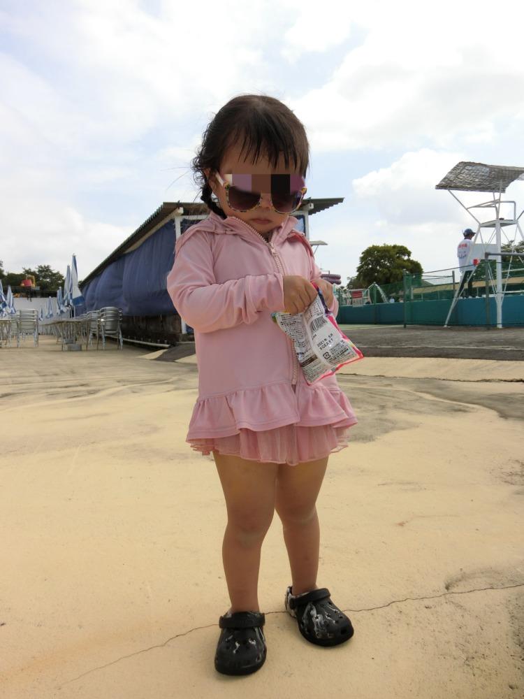 2歳女の子水着コーデ