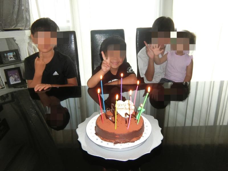 7歳のお誕生日会