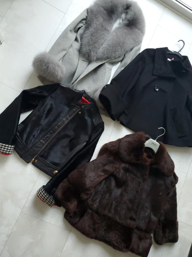 ドルガバとアルマーニのコート