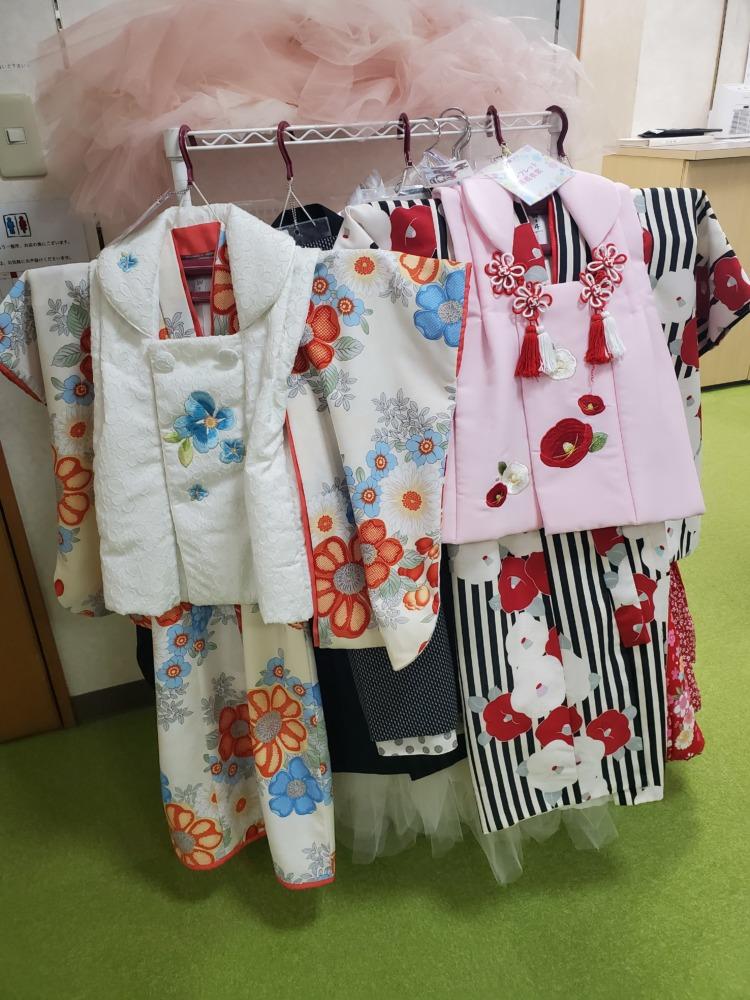 3歳女の子七五三着物衣装