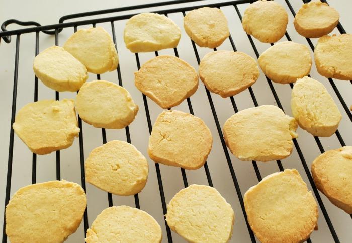 手作りクッキーを作った出来上がり写真