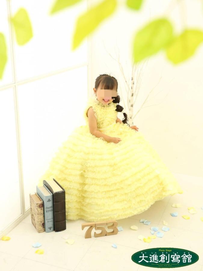 七五三写真ドレス