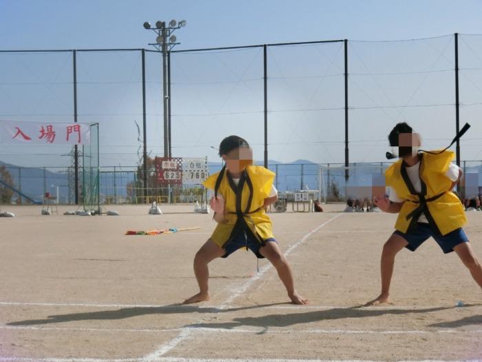 息子の小学校運動会
