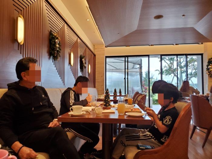 ハレクラニ沖縄の朝食