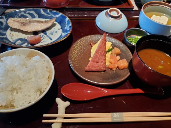 沖縄リッツカールトン朝食