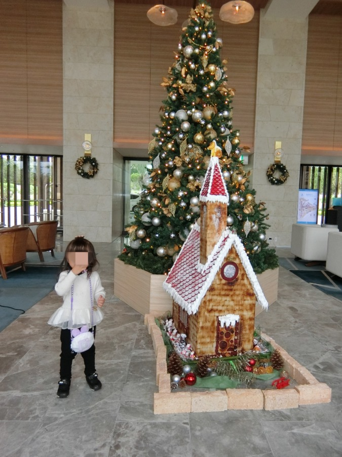 ハレクラニ沖縄のクリスマスツリー