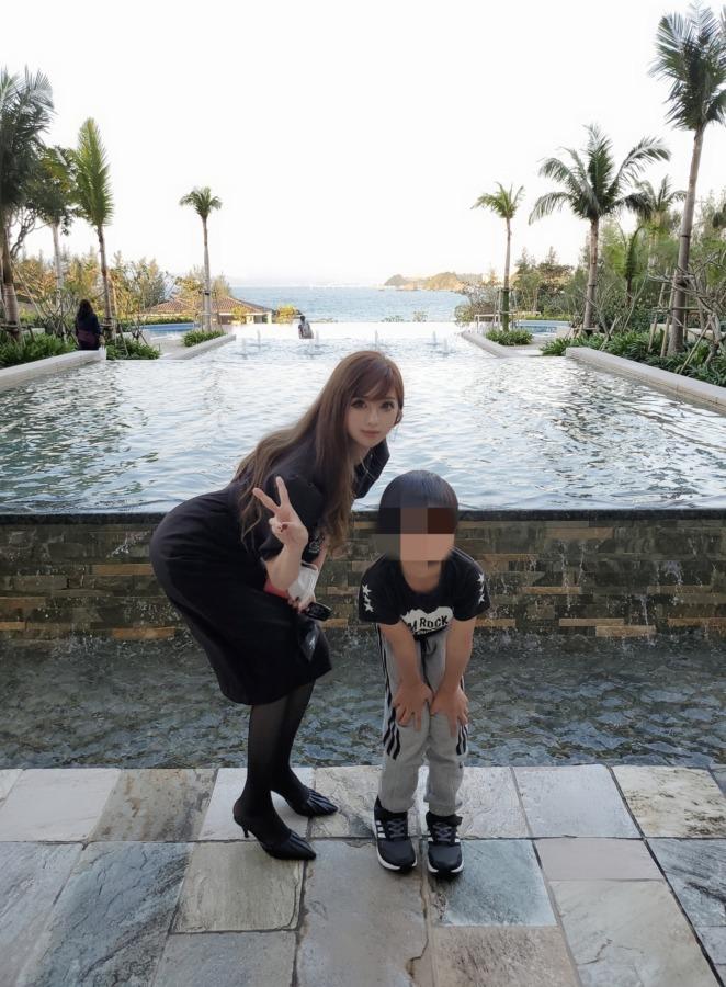 12月の沖縄でのコーデ