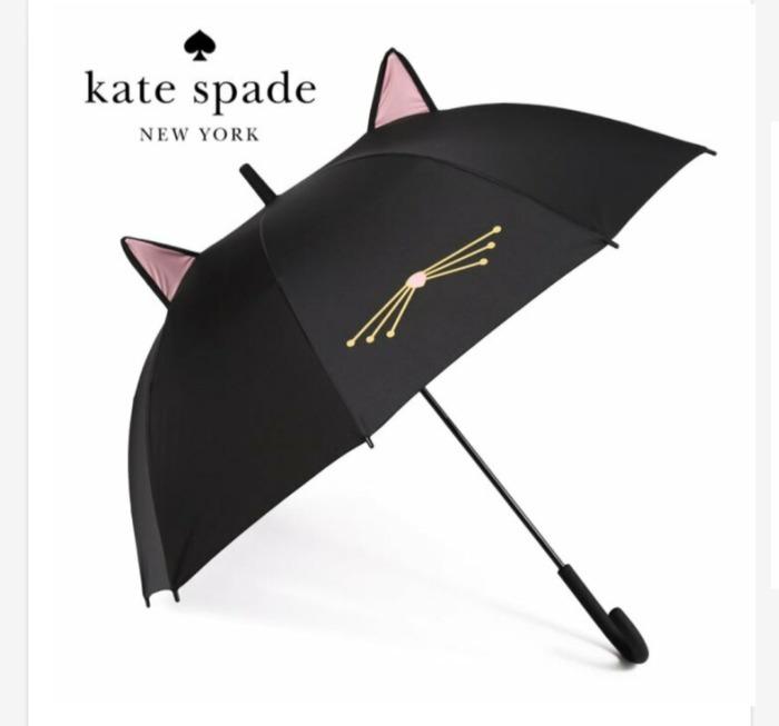 ケイトスペード猫傘