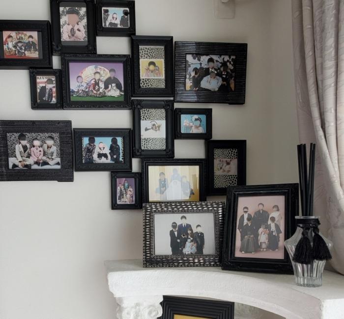 家族写真写真立て