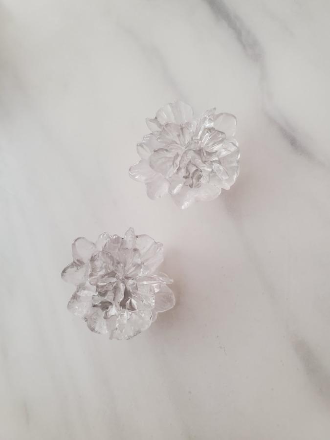 ルピス 花のイヤリング
