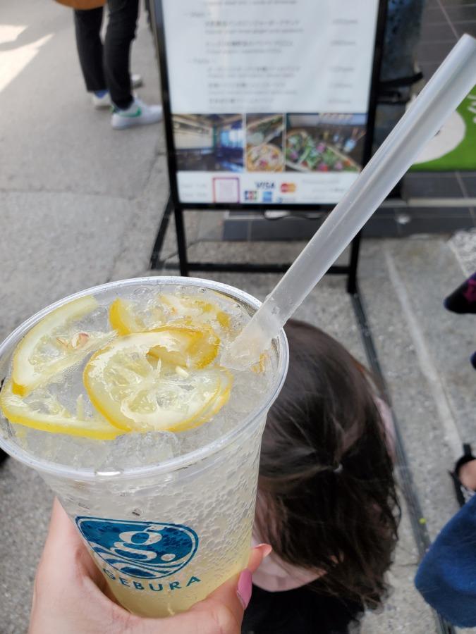 宮島レモンジュース