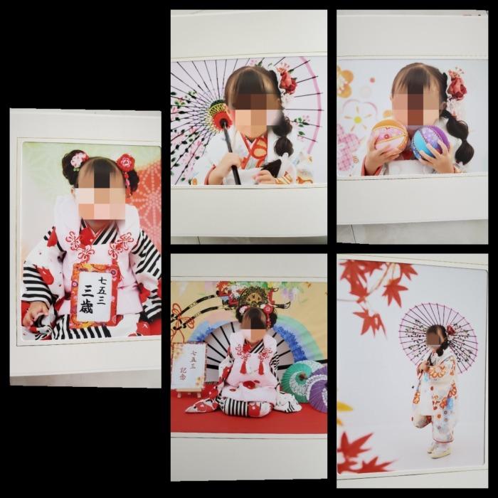 女の子七五三撮影写真