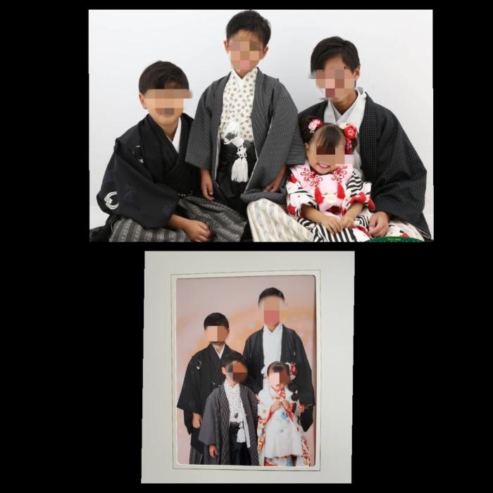 七五三兄弟写真