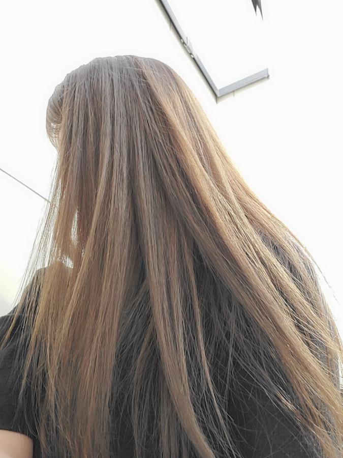 縮毛矯正効果