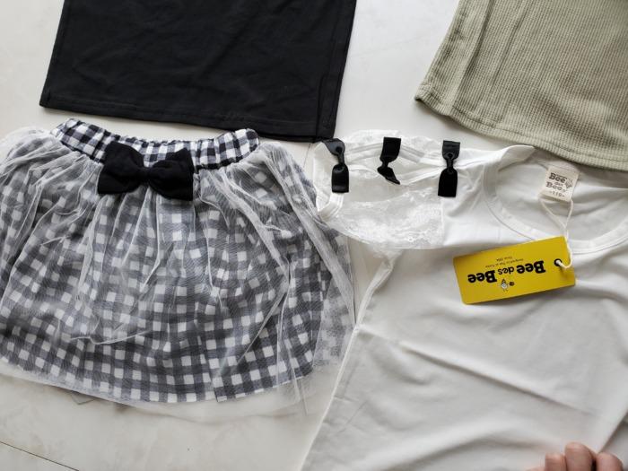 韓国子供服ビーの洋服達