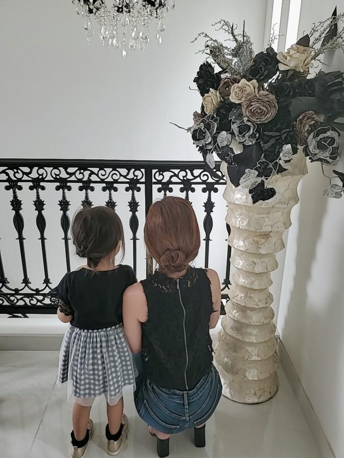 親子でお揃いヘア