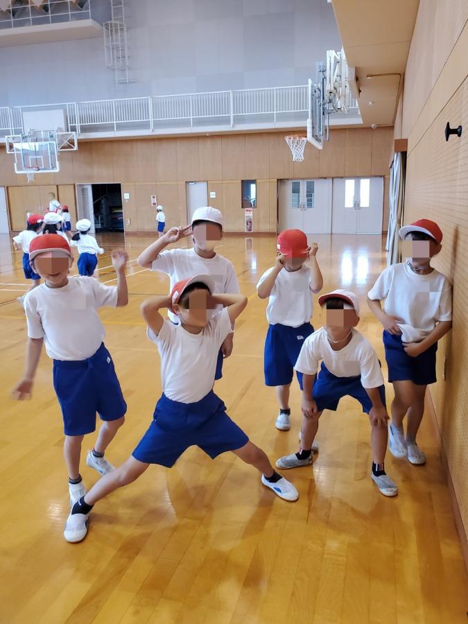 体育の授業参観