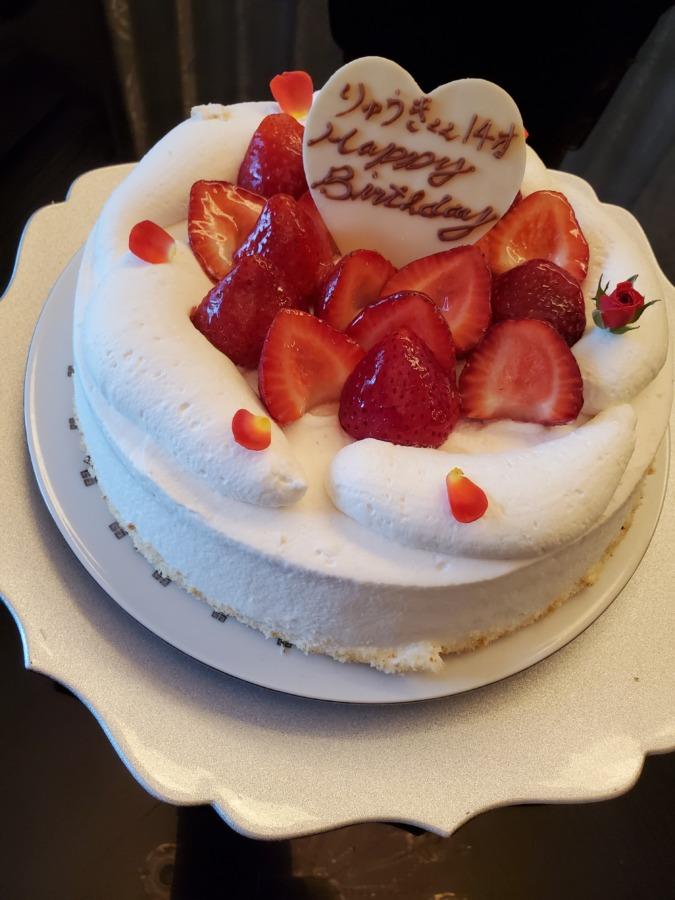 息子からリクエストされた誕生日ケーキ