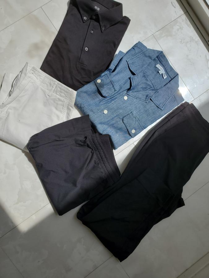 ユニクロで息子の服を大量購入