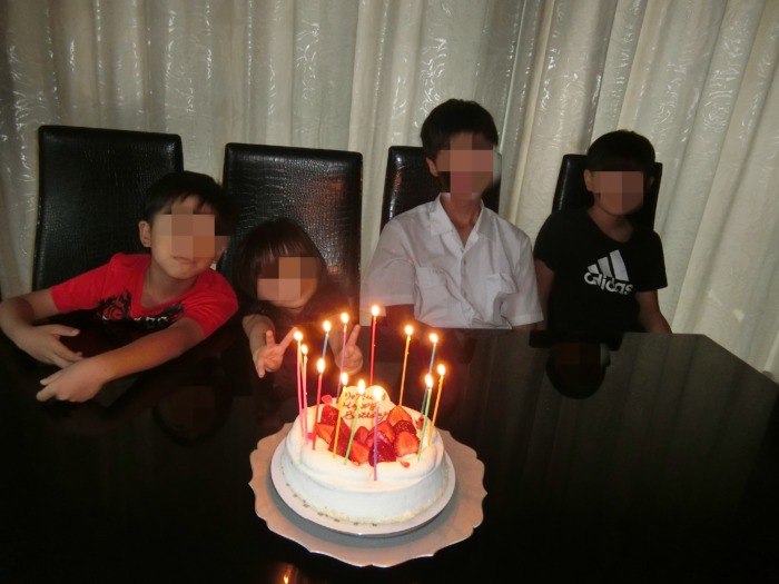 14歳の息子の誕生日会