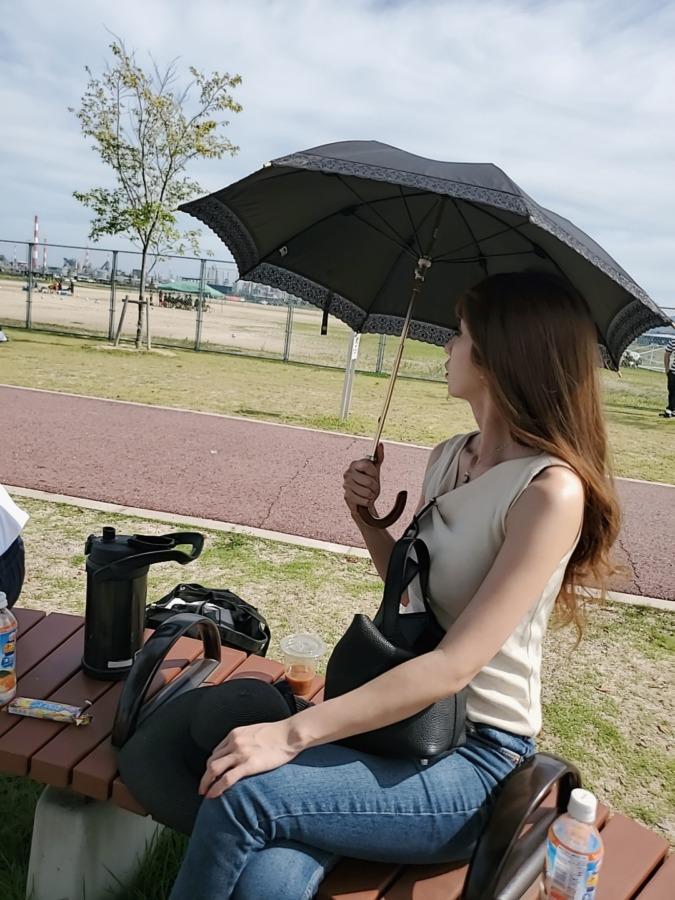 お洒落な日傘