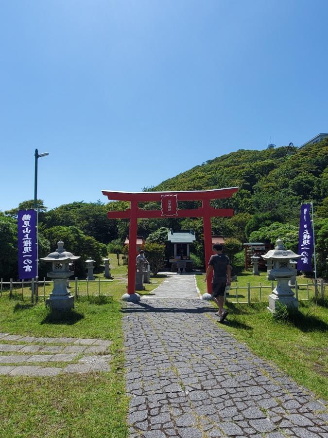 別府ロープウェイ頂上の神社