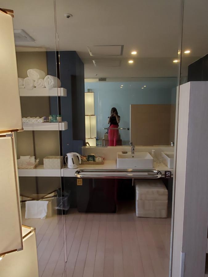 杉乃井ホテル中館洗面所バスルーム