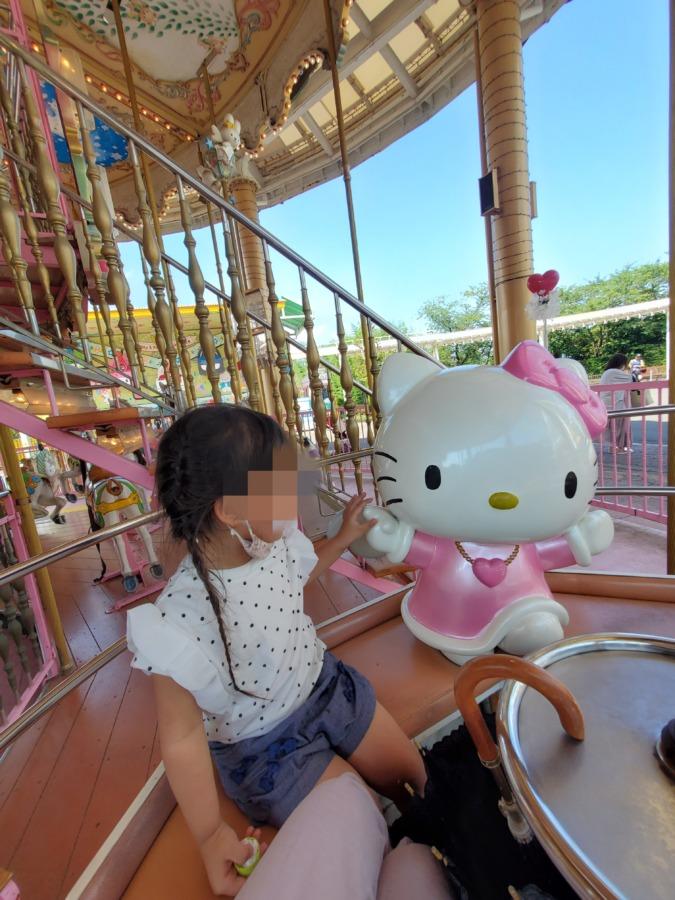ハーモニーランド キティちゃんのメリーゴーランド