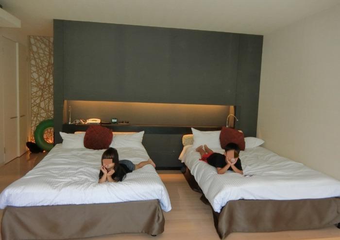 杉乃井ホテル中館ベッドルーム