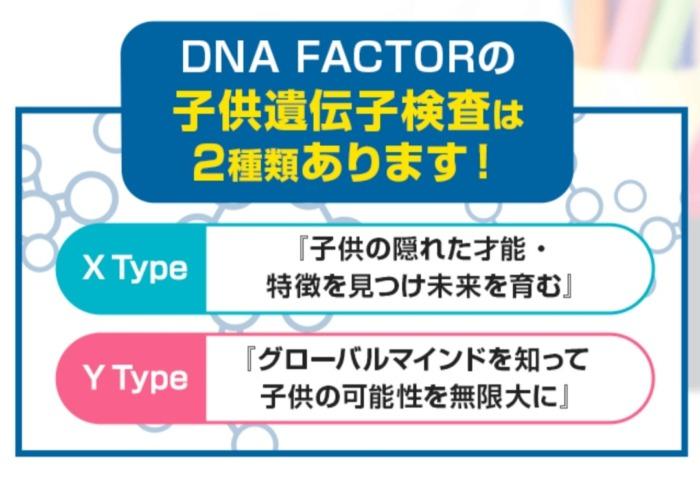 DNA遺伝子検査DNAFACTOR