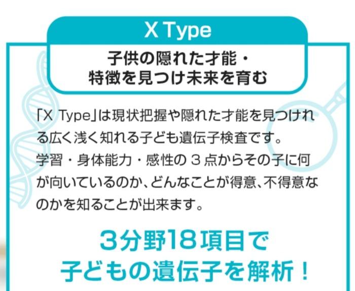 DNAファクター Xタイプ